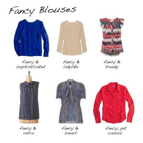 Wear This Now: Fancy Blouses