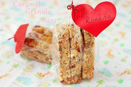 Caramel Granola Bars