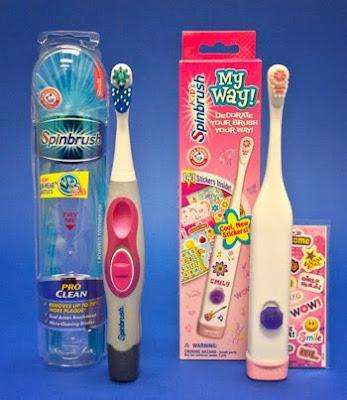 Watch out for some Battery Powered Toothbrushes!