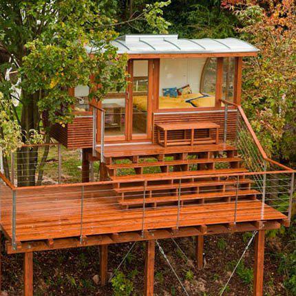 Modern garden hut