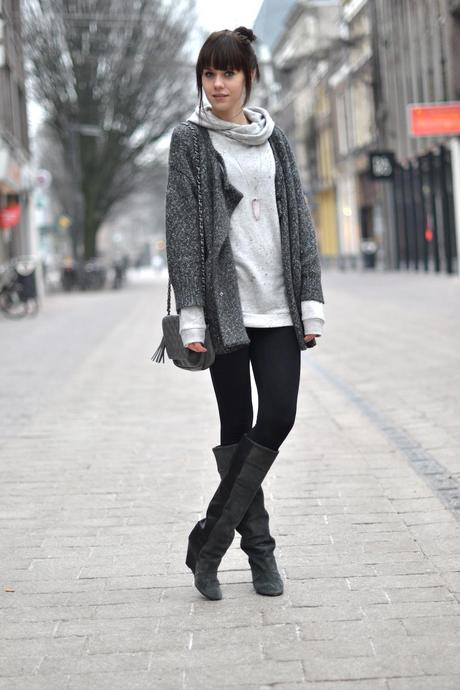 Outfit | Grey Tones