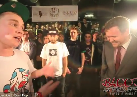 Teacher beats student in rap battle: Mark Grist versus MC Blizzard