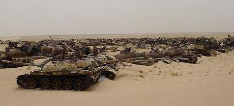 Most Incredible Tank Graveyards On Earth