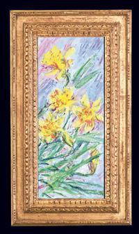 Jonquilles (daffodiles), an 1885 Monet still life, will be on sale at M.S. Rau Antiques for $1.25 million.