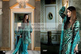 Gul Ahmad Summer Lawn Collection 2012