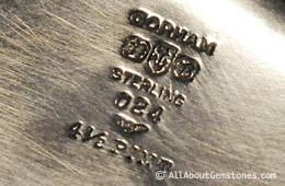 hallmarks on silver photo credit AllAboutGemstones.com