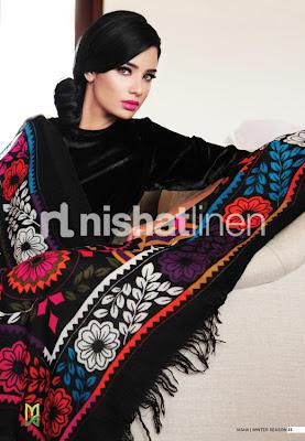 nishat linen shawl collection latest shawl de L yjkfmw - Polling for Life Style & Fashion Competition February 2014