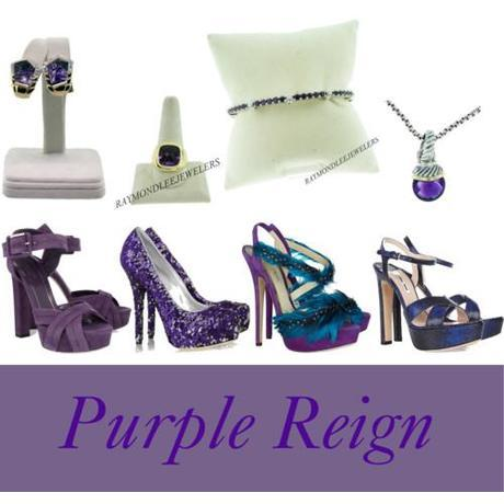 Tuesday Shoesday: Purple Reign
