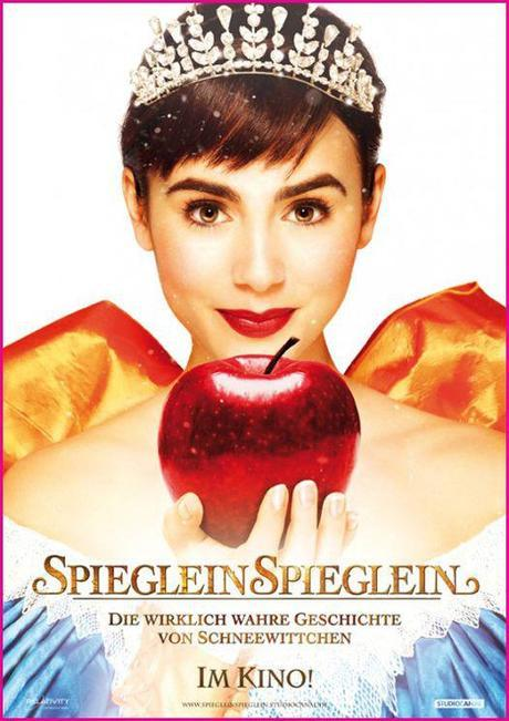 """Two New """"Mirror Mirror"""" Movie Posters Released Julia Roberts & Lily Collins 