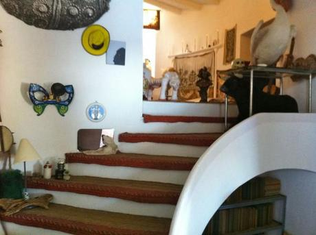 salvador dali home_stairs