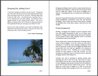 Writing a Travel Book Part 2 - Editing and Formatting