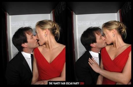 Anna Paquin and Stephen Moyer set photo booth on fire