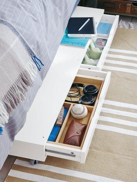 11 Ways to Squeeze a Little Extra Storage Out of a Small Bedroom: