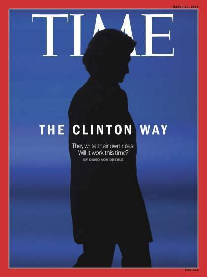 Time's Hillary cover