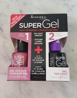 Gel nail polish rimmel