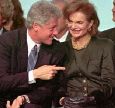 Bill Clinton, Jackie Onassis, JFK Jr.