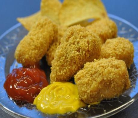 Chicken Pringlers Made With Pringles