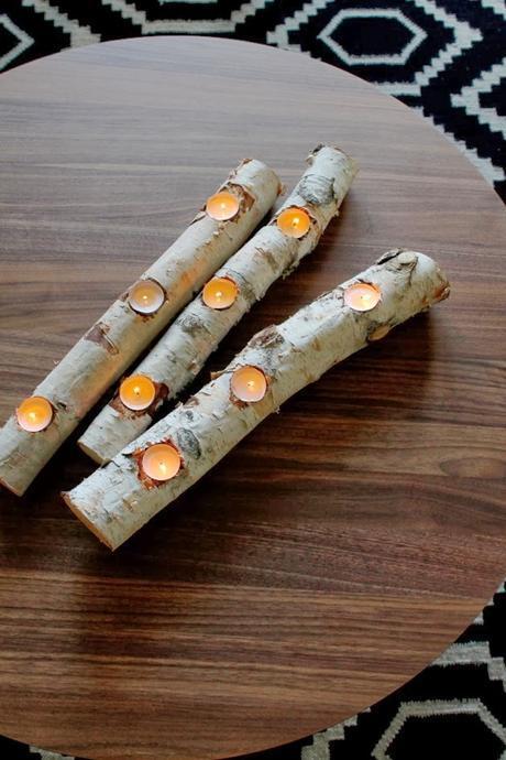 Getting Crafty with Birch Logs