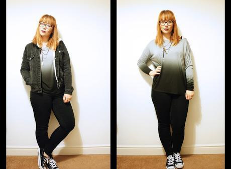 Outfit - The Ombre Top