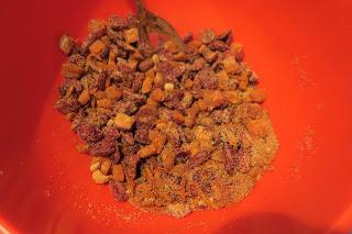 Cranberry & Apricot Cinnamon Rolls