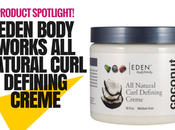 Eden Body Works Coconut Shea Curl Defining Creme Kinky, Curly, Afro-Textured Hair