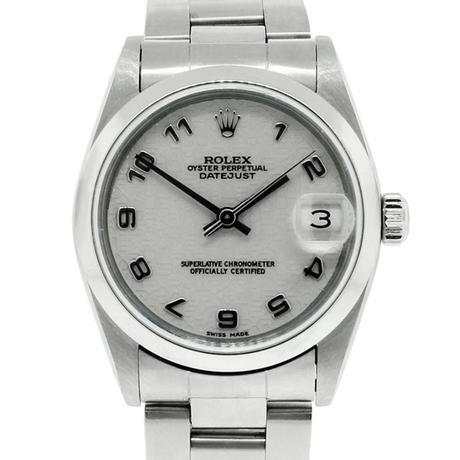 Rolex Datejust 68240 Stainless Steel Midsize Watch with Jubilee Dial