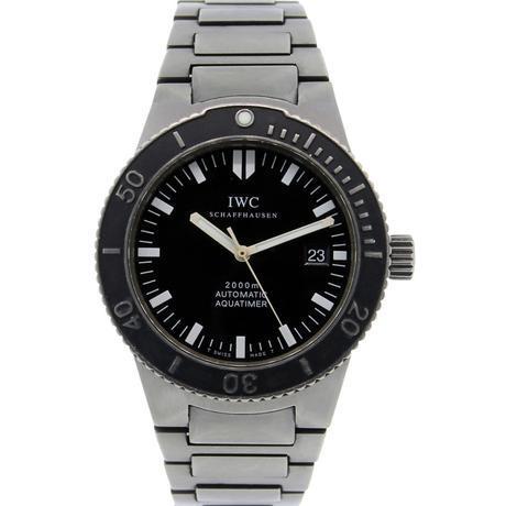 IWC 3536 Titanium Aquatimer 2000
