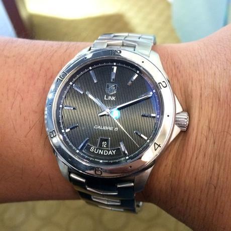 Tag Heuer WAT2010 Link Calibre 5 Steel Mens Watch