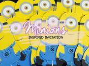 Invitation Minion Inspired