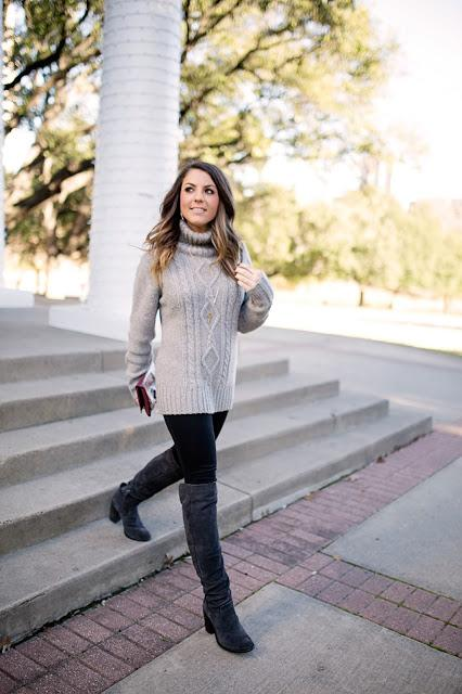 The Best Boots & What Your Cable Knit is Really Doing