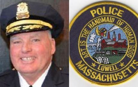 Police Superintendent William Taylor/City of Lowell Photo