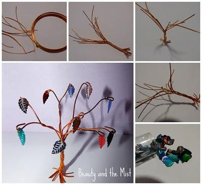 DIY: My First Wire Trees