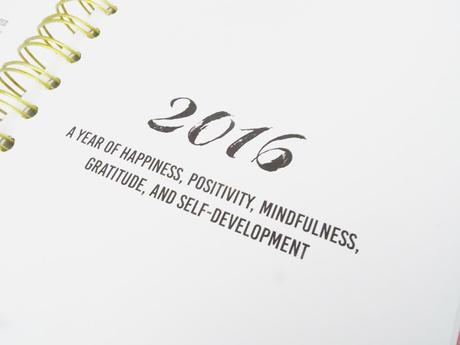 The Happiness Planner 2016