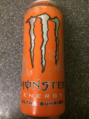 Today's Review: Monster Energy Ultra Sunrise