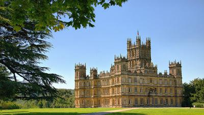 Downton Abbey Map of UK Filming Locations