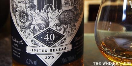 The Cally 40 Years Label