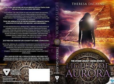 Lights of Aurora by Theresa DaLayne @ejbookpromos @TheresaDaLayne