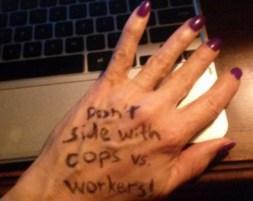 hack trafficking protest