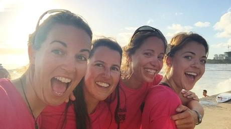 All-Female Rowing Team Completes Pacific Crossing