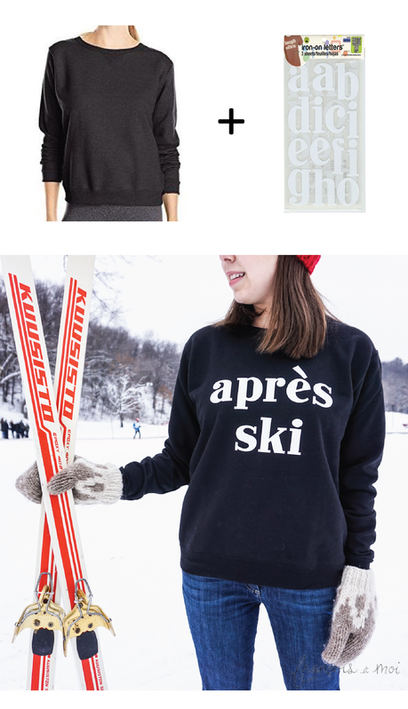 'Tis the Ski-son: DIY Après Ski Sweater