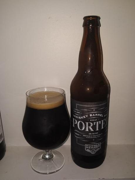 Whiskey Barrel Aged Porter – Powell Street Craft Brewery