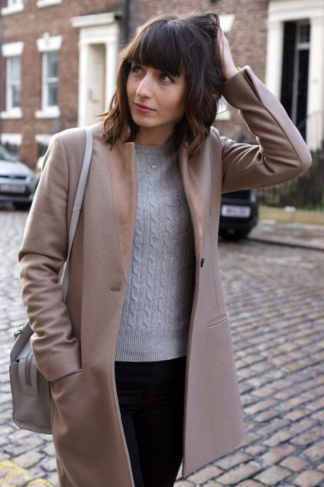 Hello Freckles All Saints Coat Winter Outfit Radley