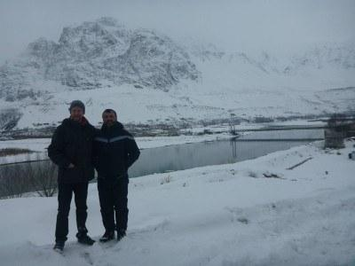 With Said from Pamir Lodge - great guy