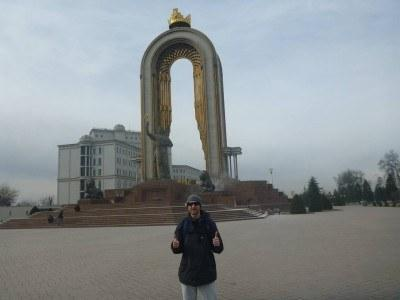 Backpacking in Tajikistan: A Guided Tour of Dushanbe, on a Monday!