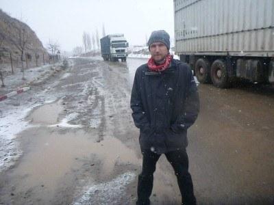 Arrival at the border entrance to Gorno Badakhshan