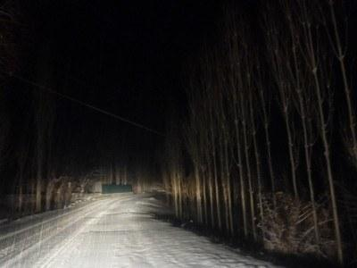 Death ride at night (a good part of the road)