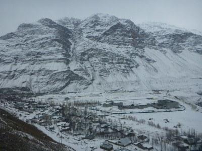 Viewpoint  of Khorog, Pamirs, Gorno Badakhshan