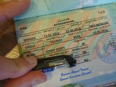 Getting an Afghanistan Visa in Bishkek, Kyrgyzstan