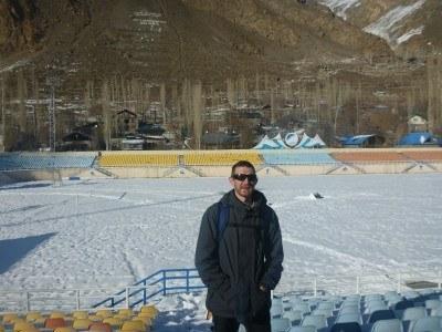 Football Stadium in Khorog, Gorno Badakhshan