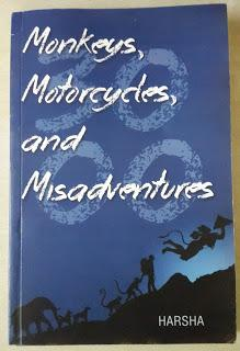 Book Review : Monkeys, Motorcycles and Misadventures
